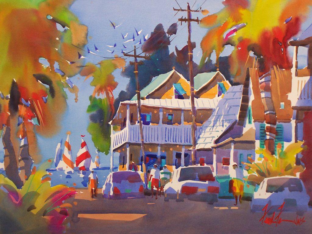 Watercolor artist magazine palm coast fl - Watercolour Color Light Frank Francese