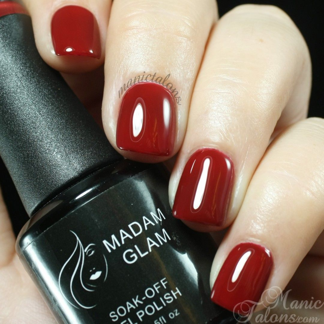 Madam Glam deep burgundy #227   Nails on point   Pinterest   Deep ...