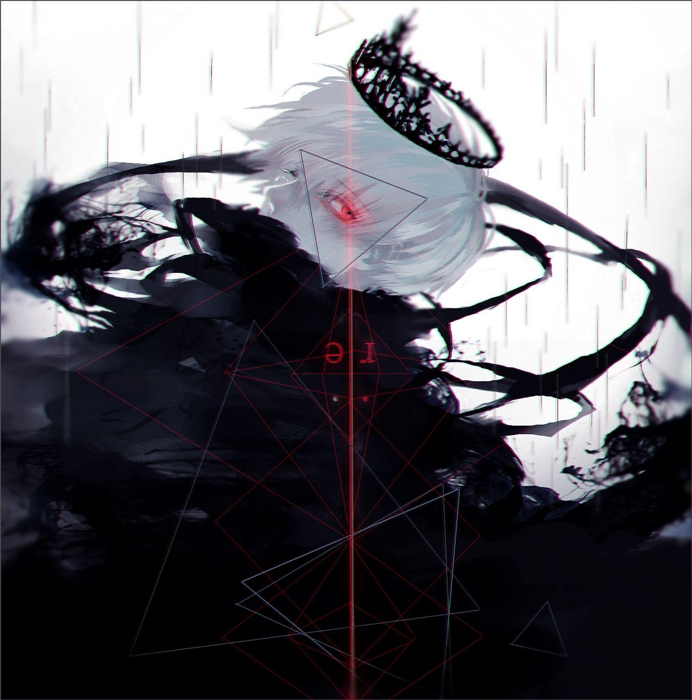 降島ツカサさんのイラスト綺麗 カネキking Tokyo Ghoul 東京