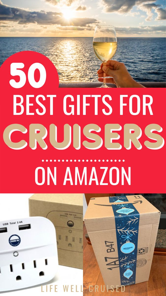 50 Best Gifts For Cruisers 2021 That Are Unique Practical Life Well Cruised In 2020 Cruise Gifts Best Cruise Ships Cruise
