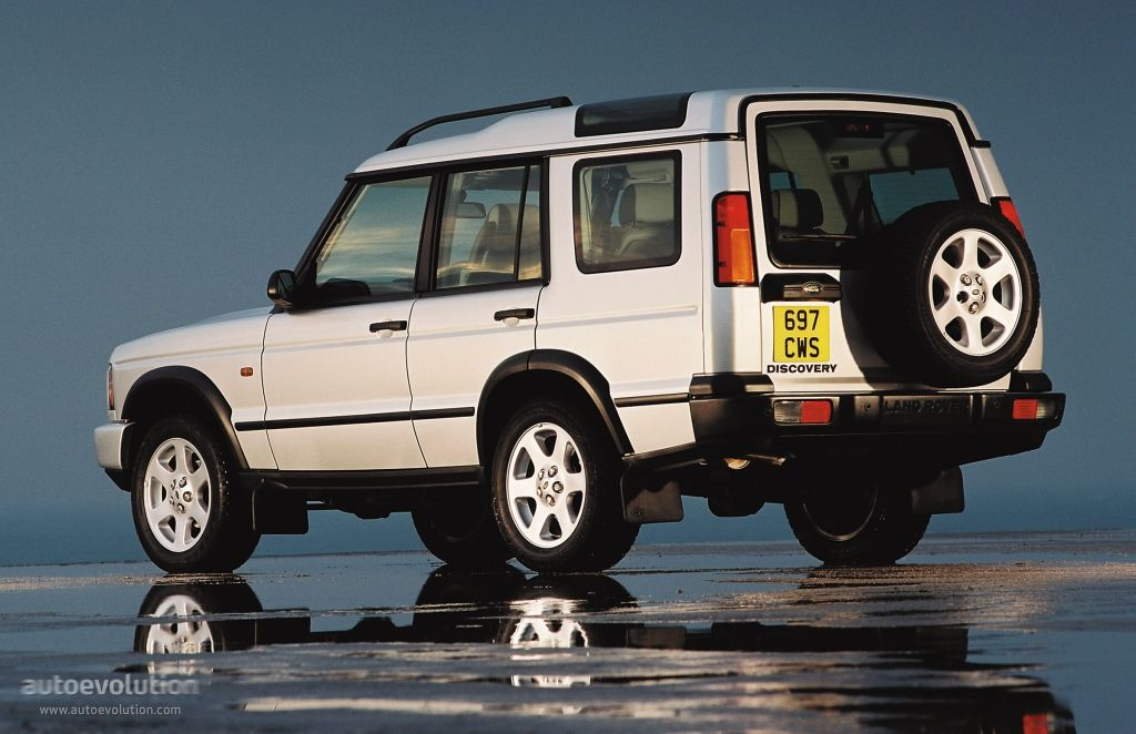 Old White Land Rover Discovery  I Like You Very Much