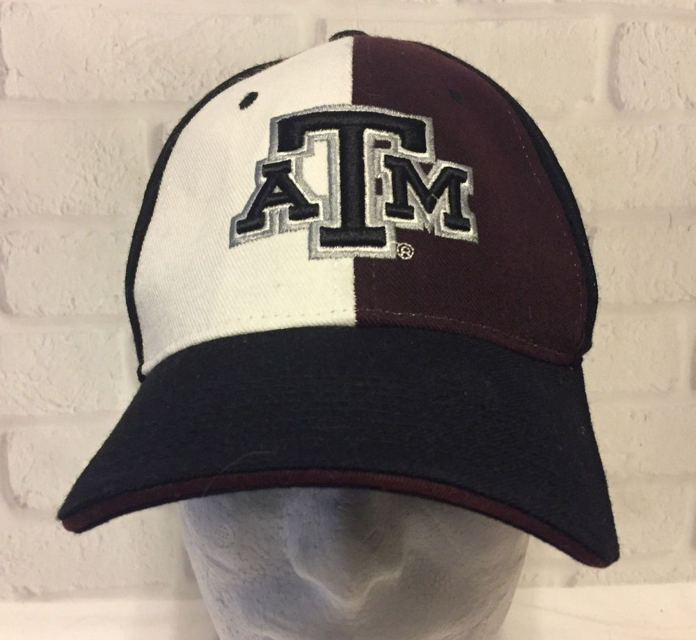Texas A M Fitted 2 Color Zephyr Aggies Cap Hat Wool Blend  3125ad70a9ab