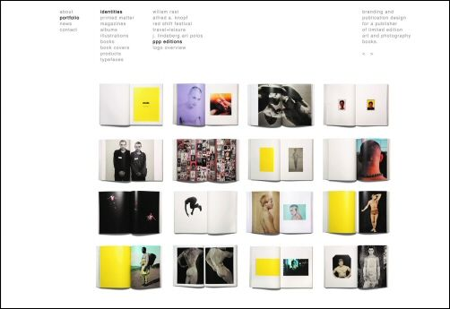alfa img showing graphic design portfolio book layout examples