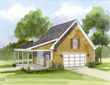 2 car garage plans garage carport plans detached garage for Detached garage pool house