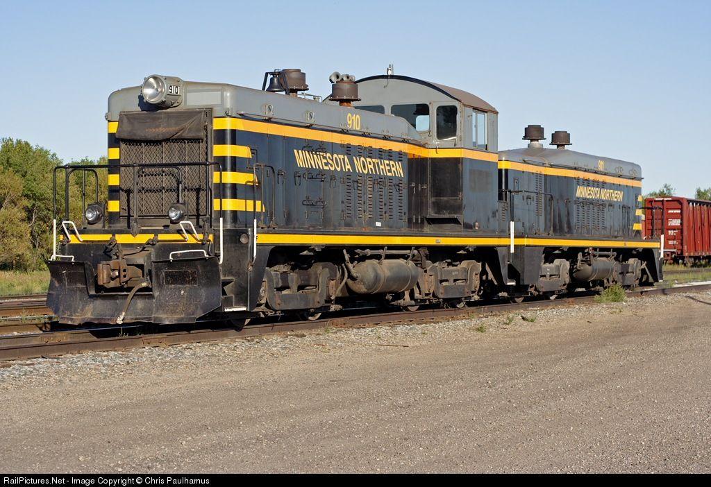 RailPictures.Net Photo: MNN 910 Minnesota Northern EMD TR4A at Crookston, Minnesota by Chris Paulhamus