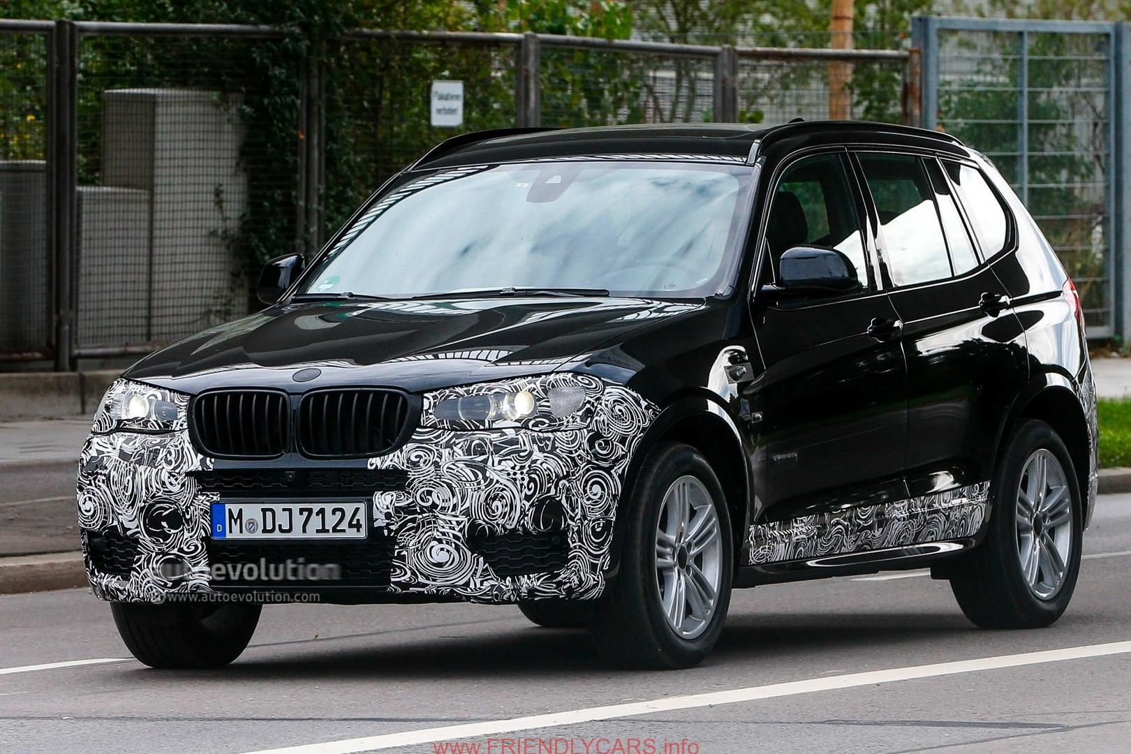 Awesome bmw x3 2014 m sport car images hd spyshots 2014 bmw f25 x3 lci m