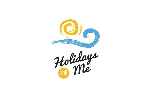 Holidays For Me By Sproutbox On Creativemarket Designs Rh Com Travel Logos