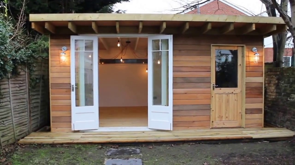 Man Cave She Shed Garden Office in 2020 Shed to