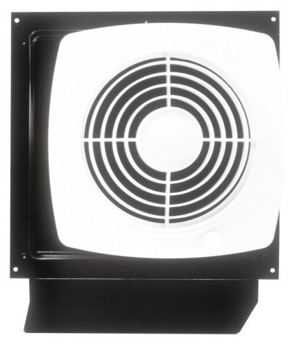 Broan 509s Through Wall Fan With Integral Rotary Switch 8 Inch 180 Cfm 6 5 Sones Bathroom Fan Ceiling Exhaust Fan Broan