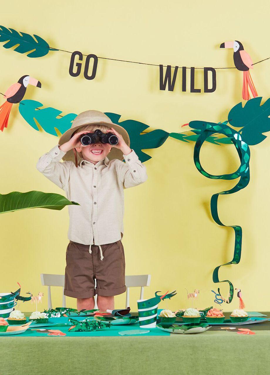 Girlanda Urodzinowa Dzungla 6m Jungle Party Safari Party I Impreza