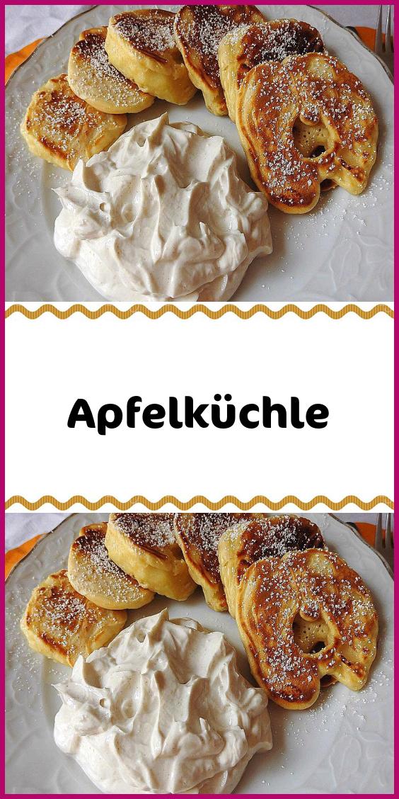 Apfelküchle #kuchenkekse