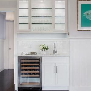 Christopher Home Furnishings Kitchens Benjamin Moore Mineral Ice Small Butler Pantry Lit Cabinets Kitchen Gl Shelves