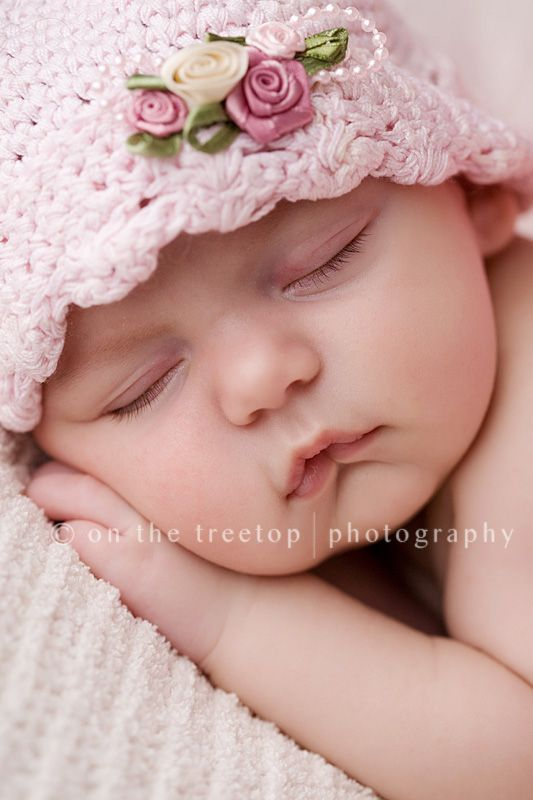 Newborn Baby Girl Baby Image Photography