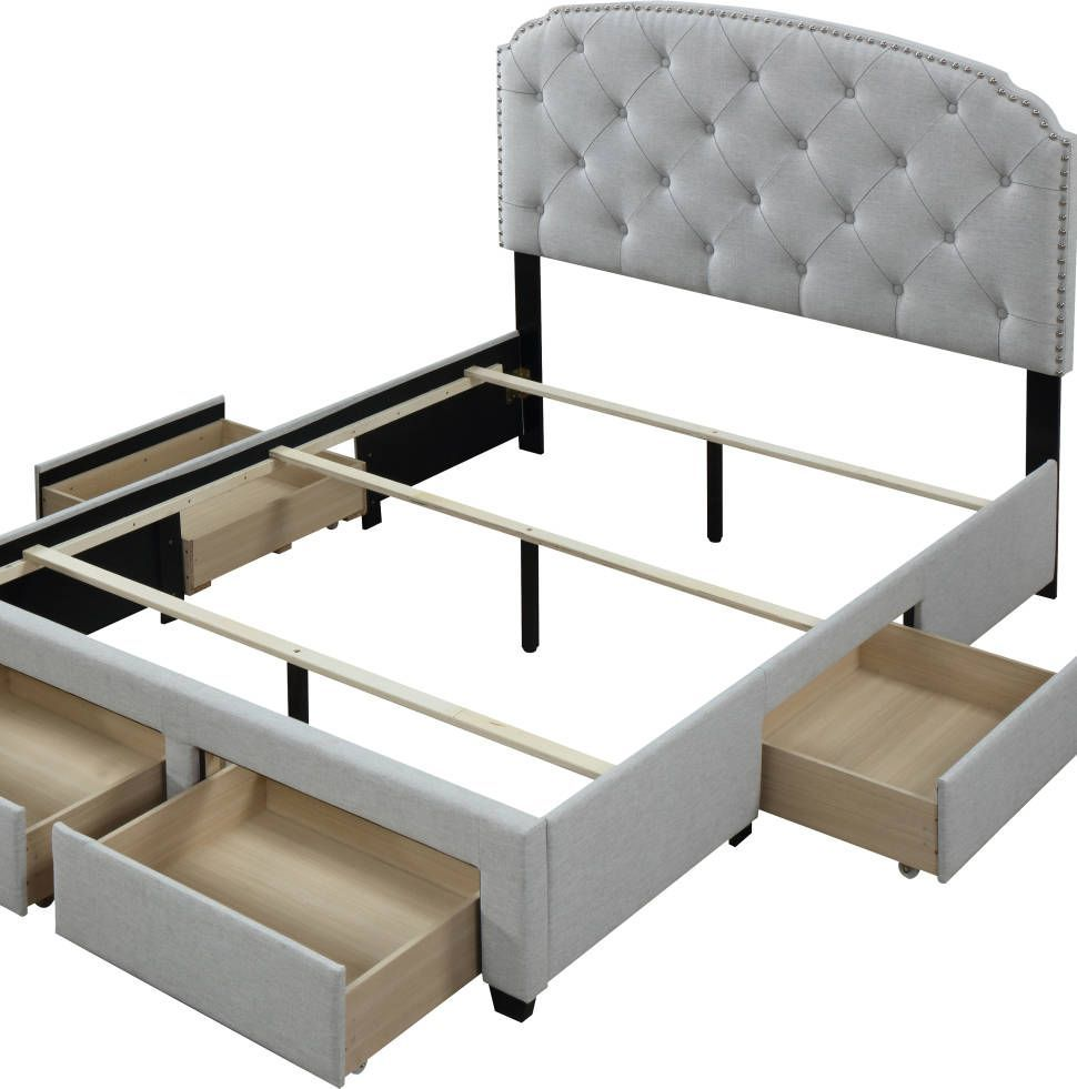 Abbingt Upholstered Storage Panel Bed Reviews Joss Main