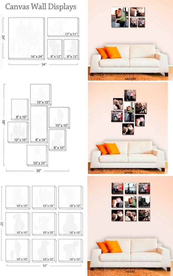 Decorating With Portraits Home Decor Photo Wall Display Home