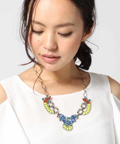turno jeana ネオンカラーネックレス / Neon Colored Necklace on ShopStyle