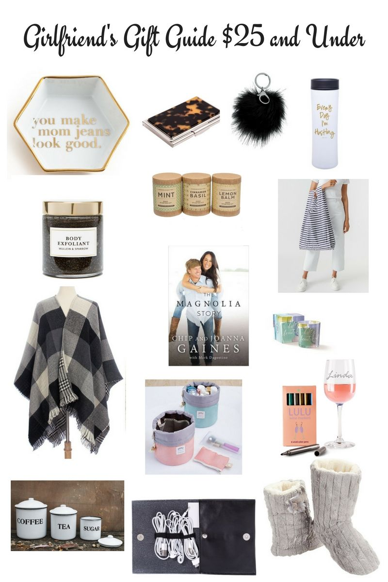 Girlfriend S Gift Guide 25 And Under Birthday Gifts For