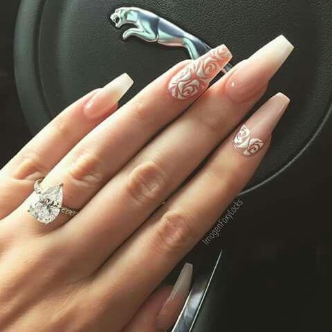 pinsamantha weekly on fashion kills  blush nails