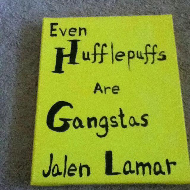 For Jalen #isu #hufflepuff