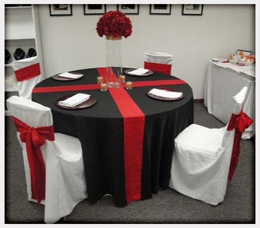 Decorations Cake Table Idea Black And White Wedding Centerpieces