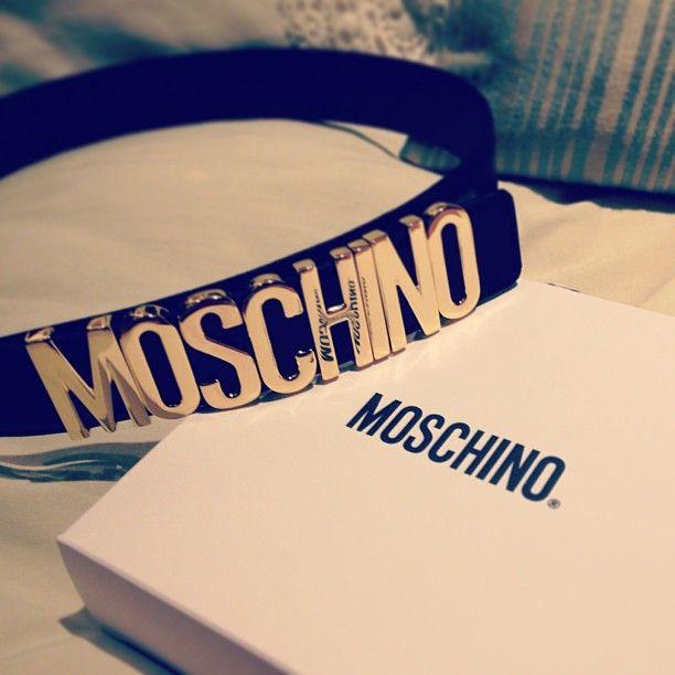 Photo by camillamount  #moschino #mymoschino #belt