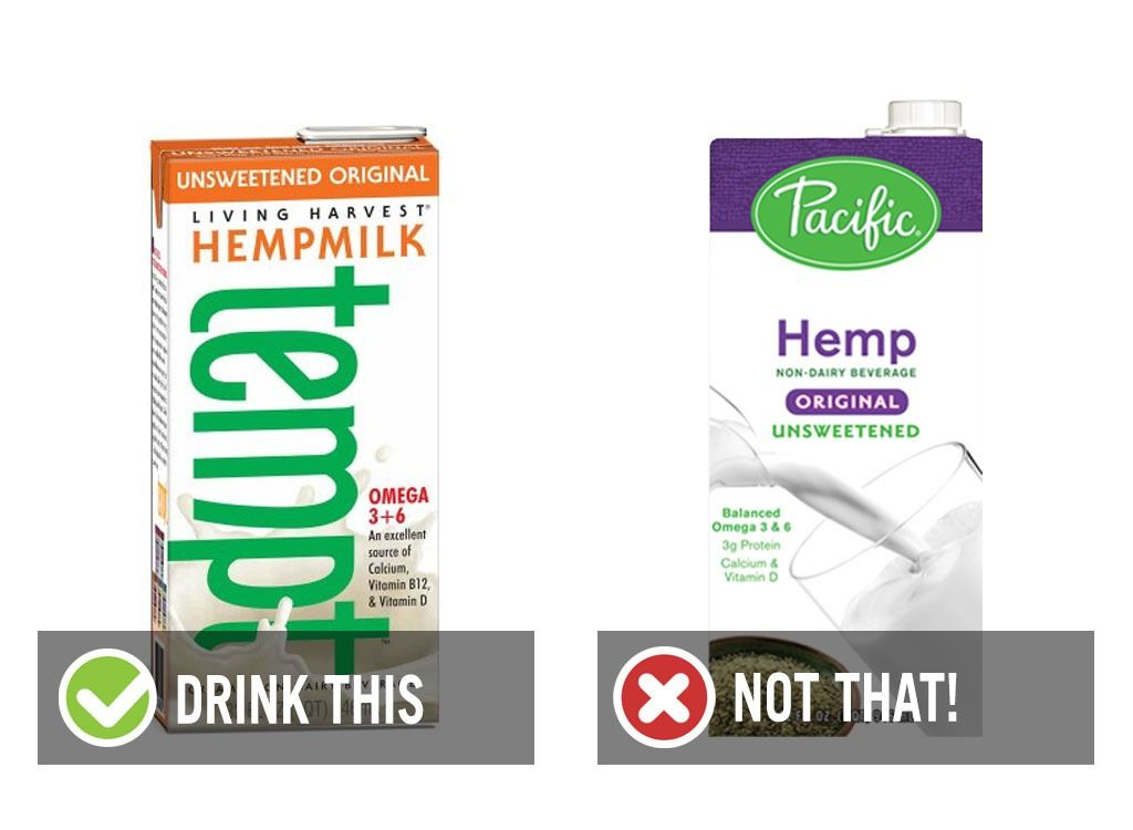 """With so many options, it's no wonder so many of us are roaming the dairy aisle in """"udder"""" confusion. Here, the Eat This!-approved guide to milk and milk alternatives."""