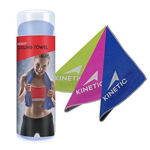 Kinetic Cooling Towel Unique Microfiber Mesh Design Towel For
