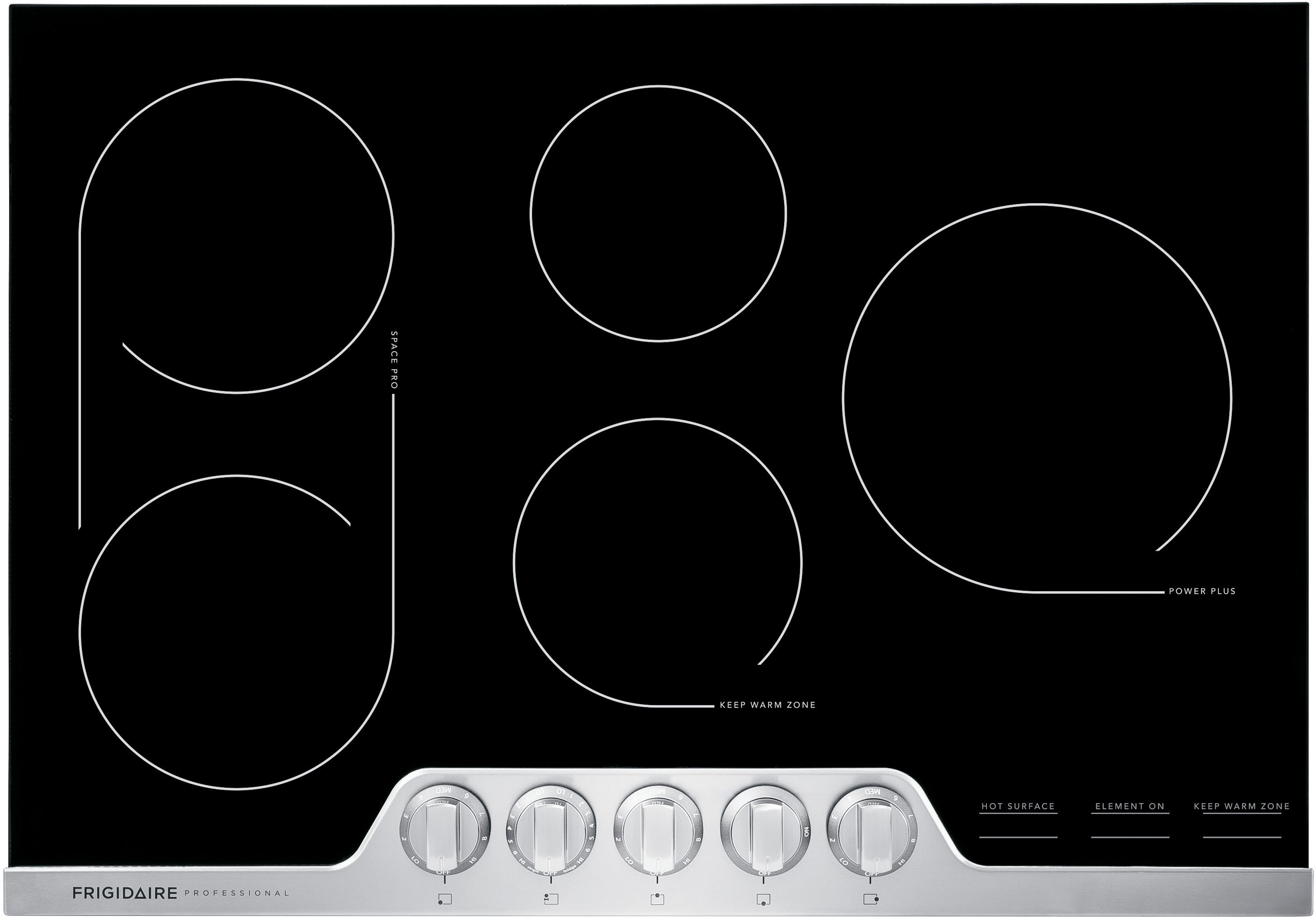 Frigidaire Professional 30 Stainless Steel Induction Cooktop Fpic3077rf Texas Appliance Frigidaire Professional Induction Cooktop Cooktop