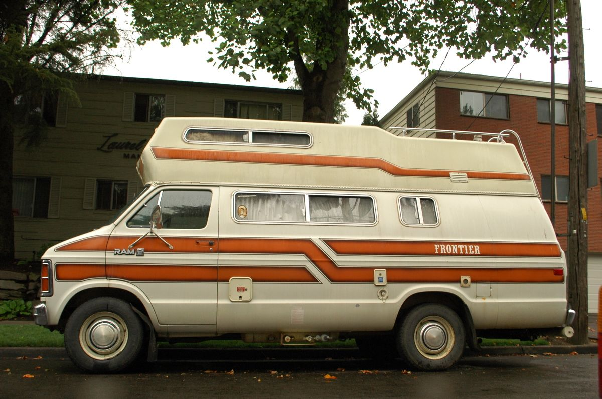 1981 dodge ram 350 royal frontier camper conversion