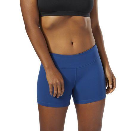 Reebok Women's CrossFit Chase Bootie Short in Bunker Blue