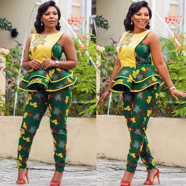 d9bbfe6d0bec35 Ankara Trouser and Top Styles for Ladies - DeZango Fashion Zone
