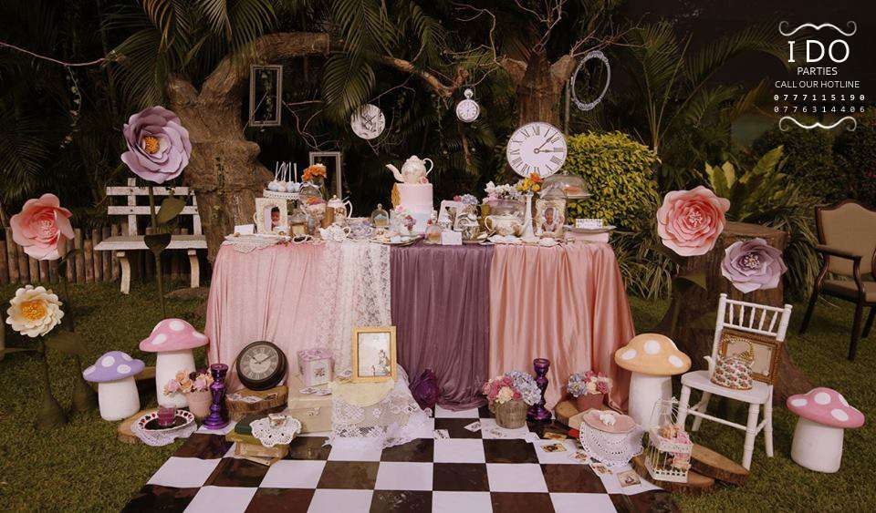 Vintage Alice In Wonderland Birthday Party Ideas Photo 1 Of 67