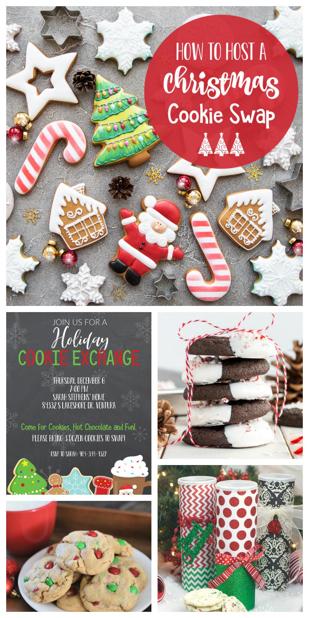 Christmas Cookie Exchange Christmas Cookie Swap Party Christmas Cookie Exchange Party Ideas Cookie Exchange Invitations