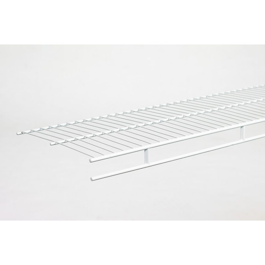 Closetmaid 12 Ft X 12 In White Wire Shelf 37300 Shelves Wire Shelving Closetmaid Closet Organizer