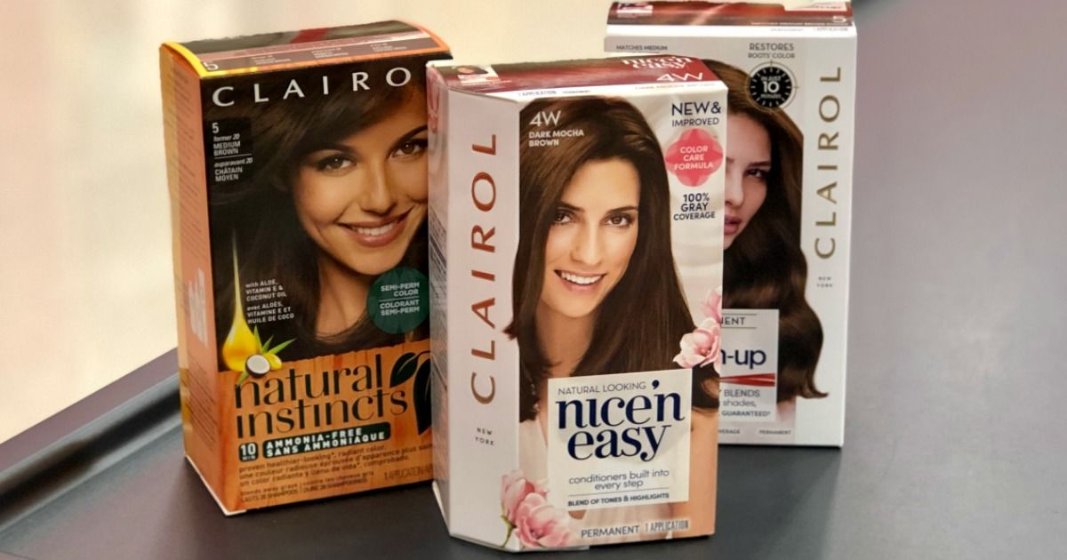 Hip2save New Buy 1 Get 1 Free Clairol Hair Color Coupon Only 2 50 After Cvs Rewards More Looking T Clairol Hair Color Dollar Tree Wedding Clairol Hair