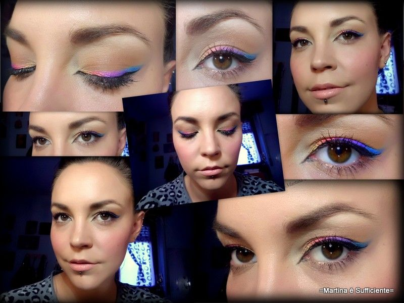 Eyeliner arcobaleno! <3