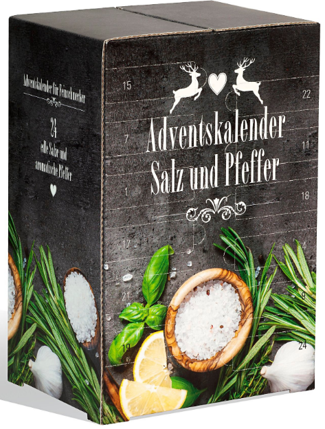 Salz- und Pfeffer Adventskalender
