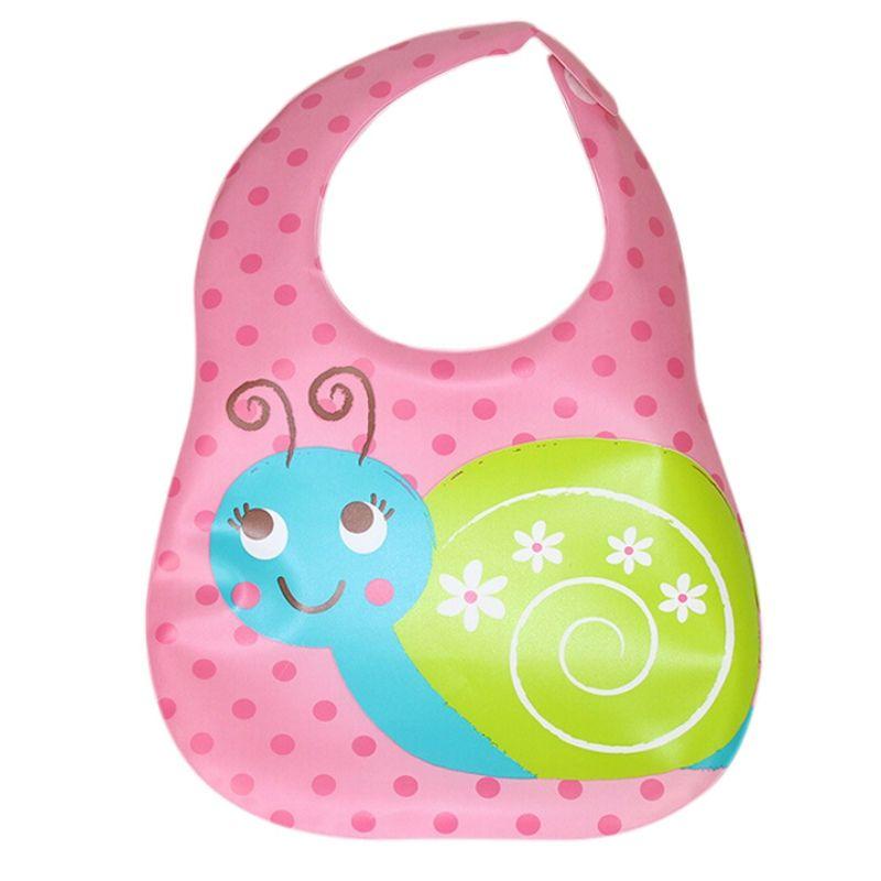 New Waterproof Design Newborn Baby Bibs Silicone Feeding Baby Saliva