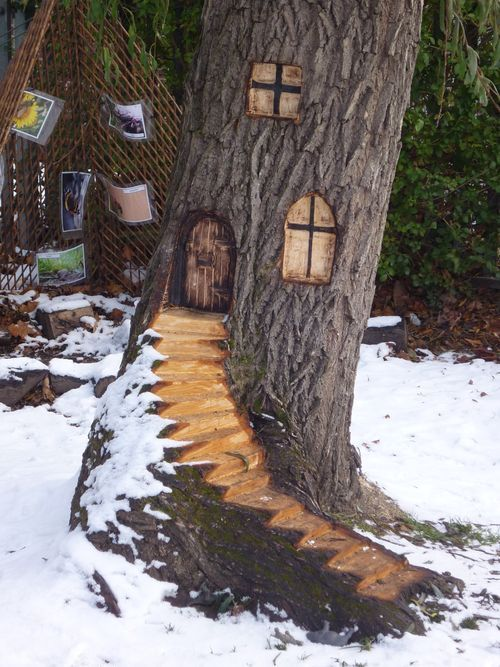 Google image result for for Upcycled tree stumps
