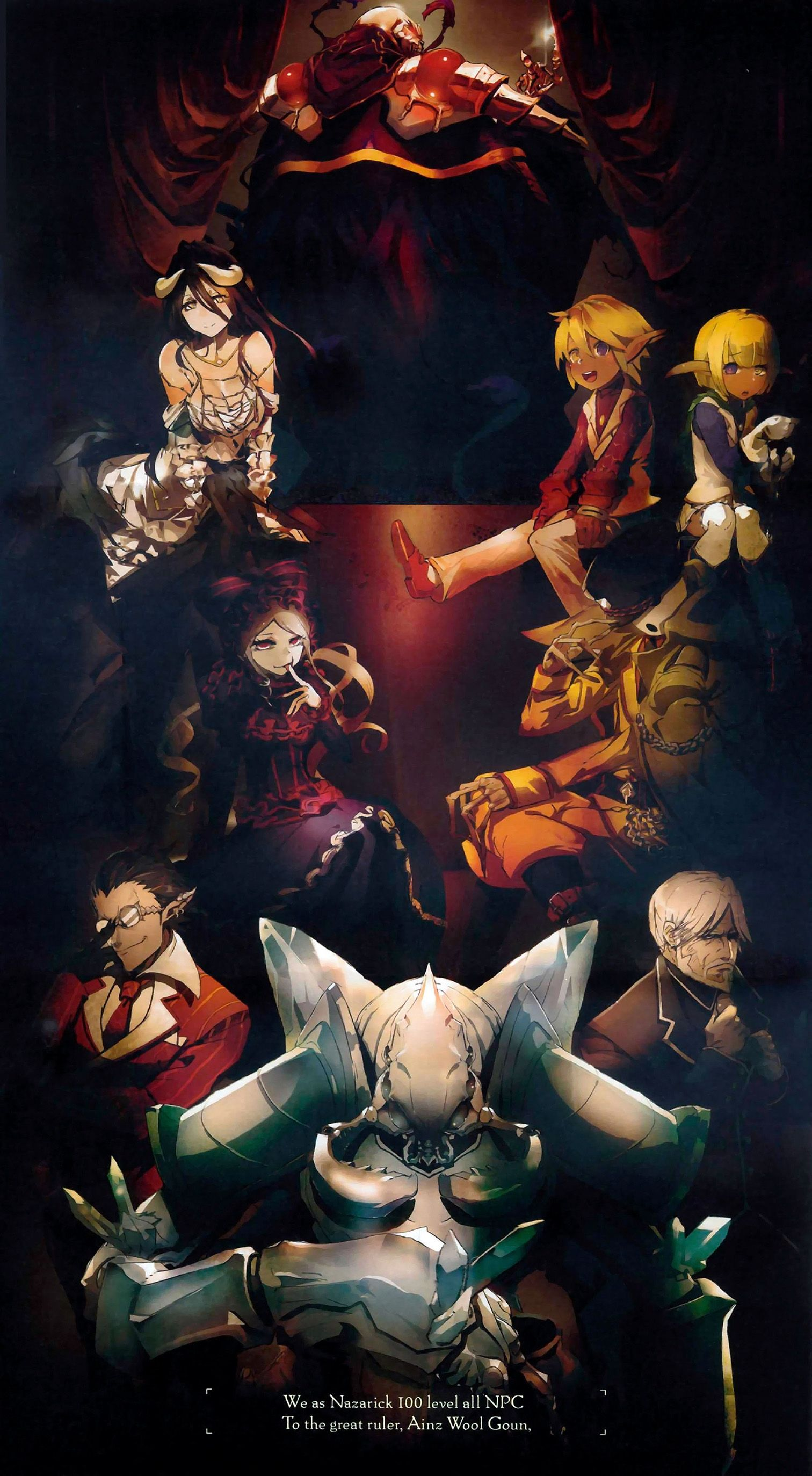 Overlord sobin Illustration Pinterest Anime and