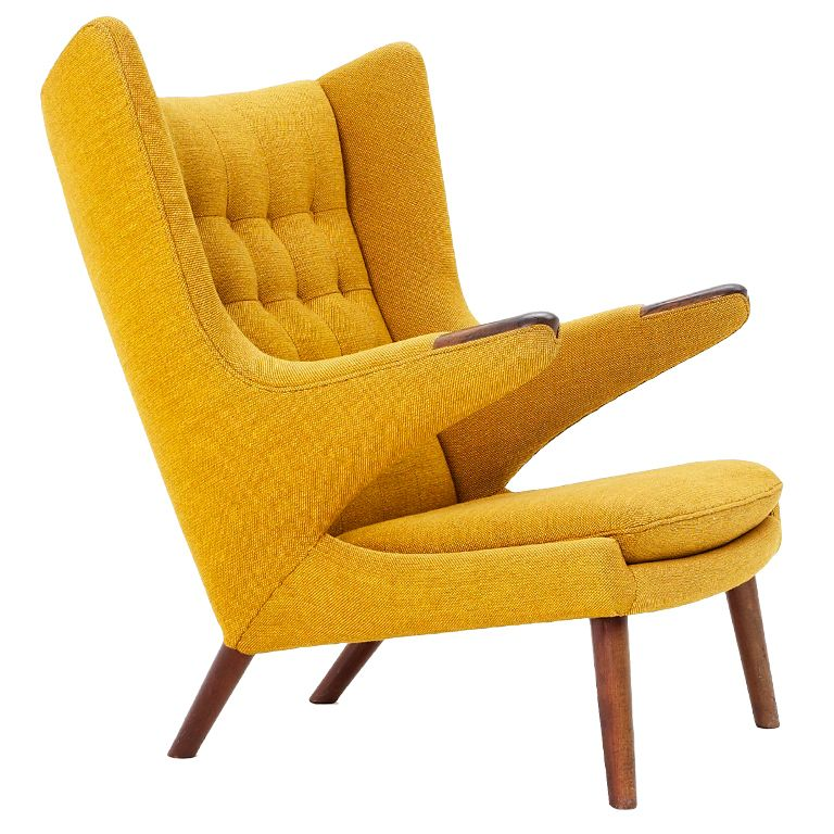 Sensational Papa Bear Chair With Rosewood Armrests By Hans J Wegner In Ibusinesslaw Wood Chair Design Ideas Ibusinesslaworg