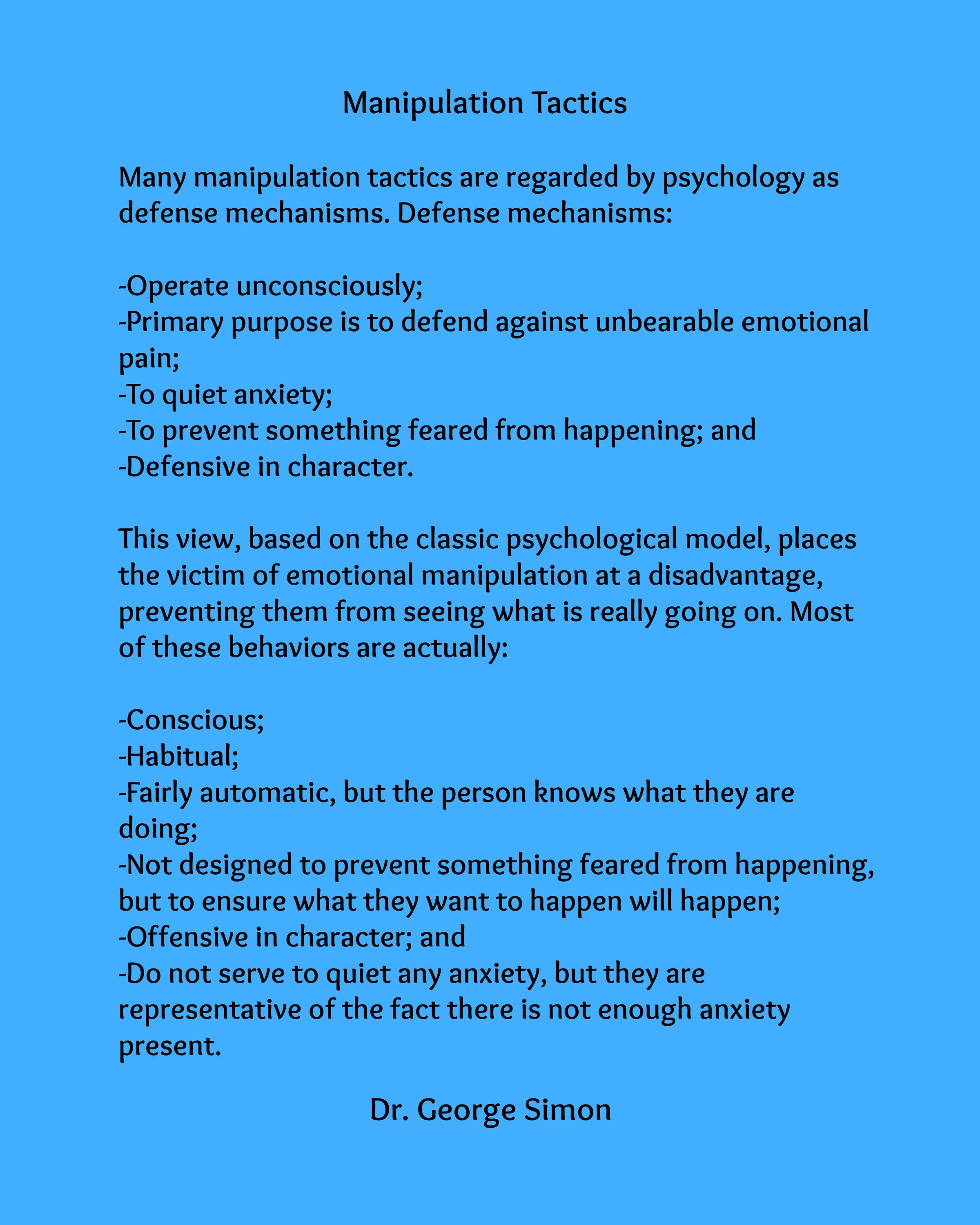 whats psychological manipulation Covert psychological murder is the most under-cover and unrecognized form of abuse that exists, yet nobody has ever been convicted of committing of carrying out the devastating crime.