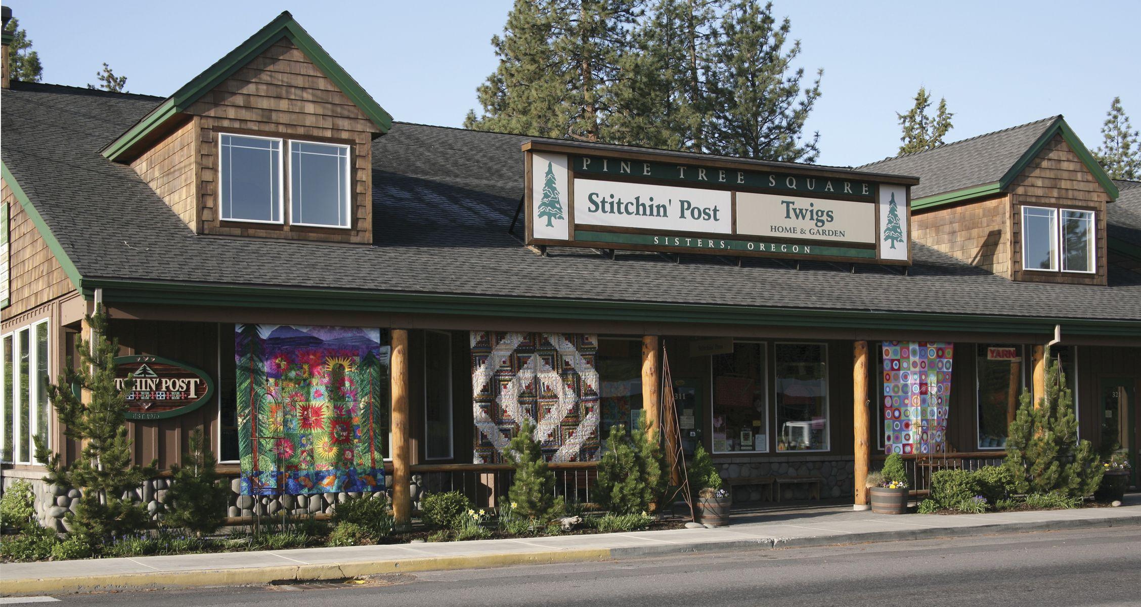 Sisters, Oregon. The Stitching Post quilt shop where there is an ... : quilt shop sisters oregon - Adamdwight.com