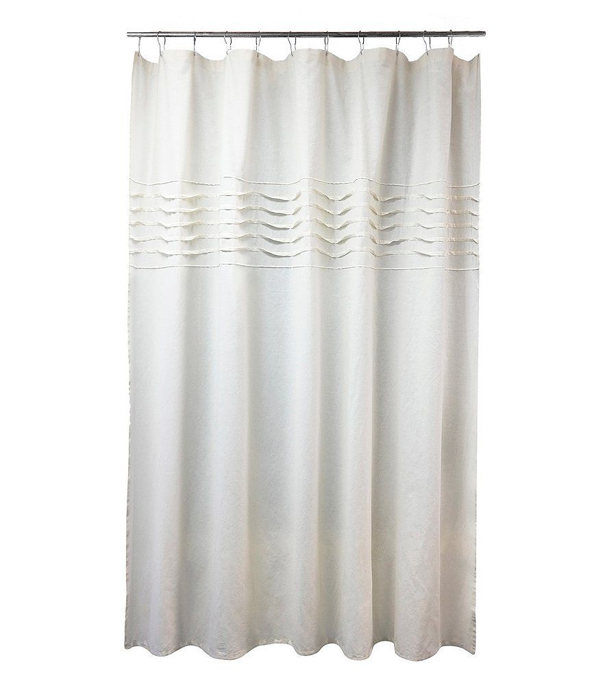 Southern Living Pleated Linen With Images Cotton Shower
