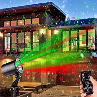 Amazon Com Christmas Laser Lights Outdoor Laser Christmas Lights Outdoor Projector Christmas Lights