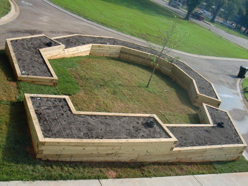 raised garden beds are easy on your back and will give your plants good drainage and