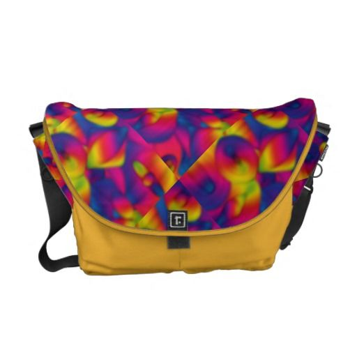 Rainbow Sumo Messenger Bag