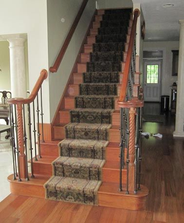 Best Custom Stairs Traditional Straight Design Brazilian 400 x 300