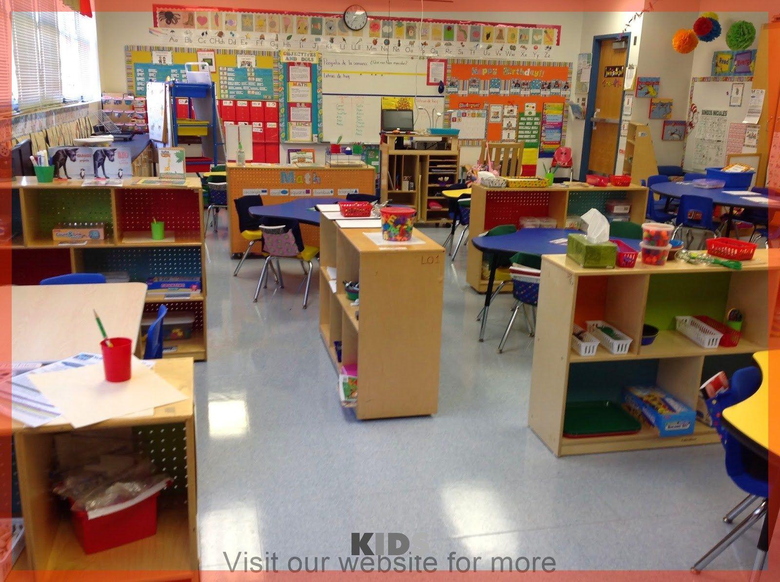 Kindergarten Classroom Organization In