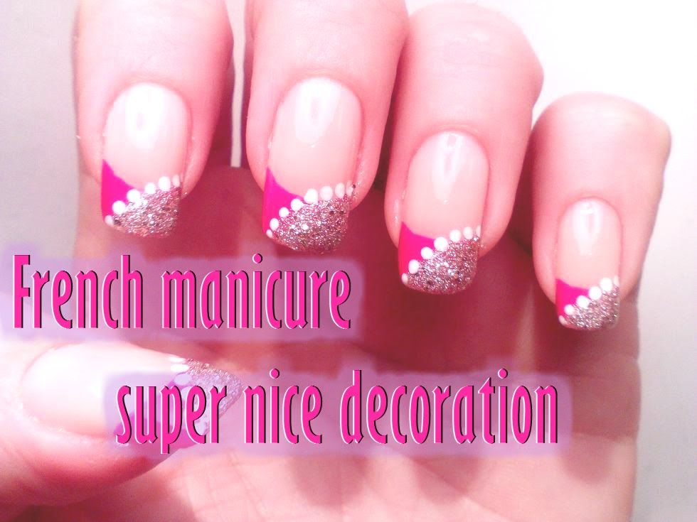 super nice easy french manicure manicura francesa super fcil - Manicura Francesa Facil